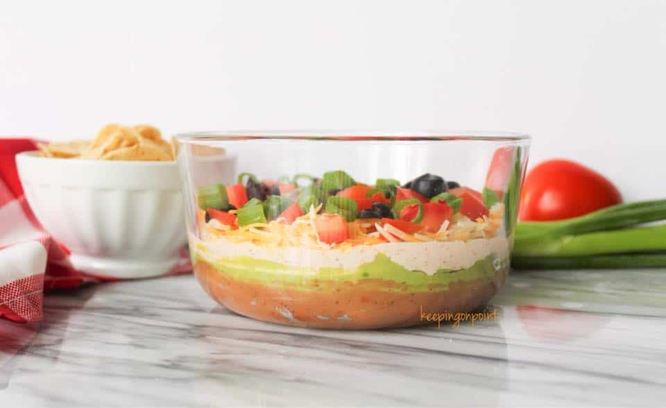 Weight Watchers Seven Layer Dip 2