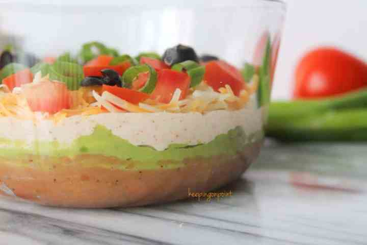 Weight Watchers Seven Layer Dip 3