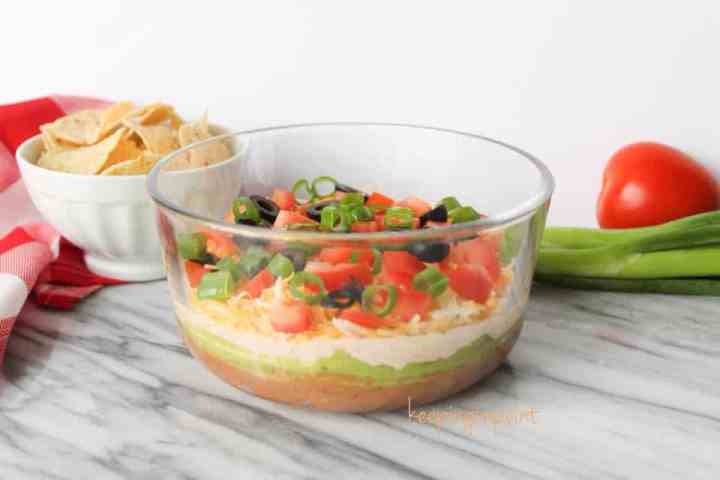 Weight Watchers Seven Layer Dip 4