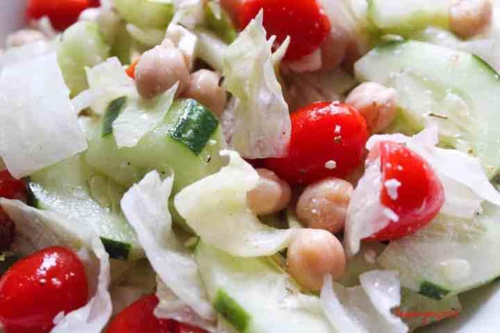 Weight Watchers Freestyle Greek Salad