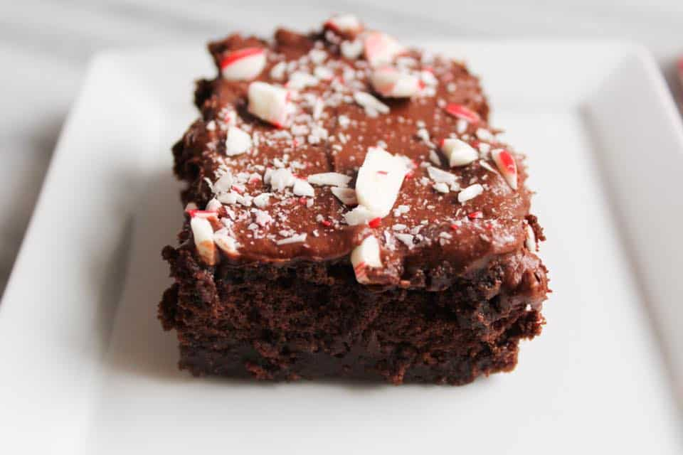 Weight Watchers Freestyle Pepermint Brownies