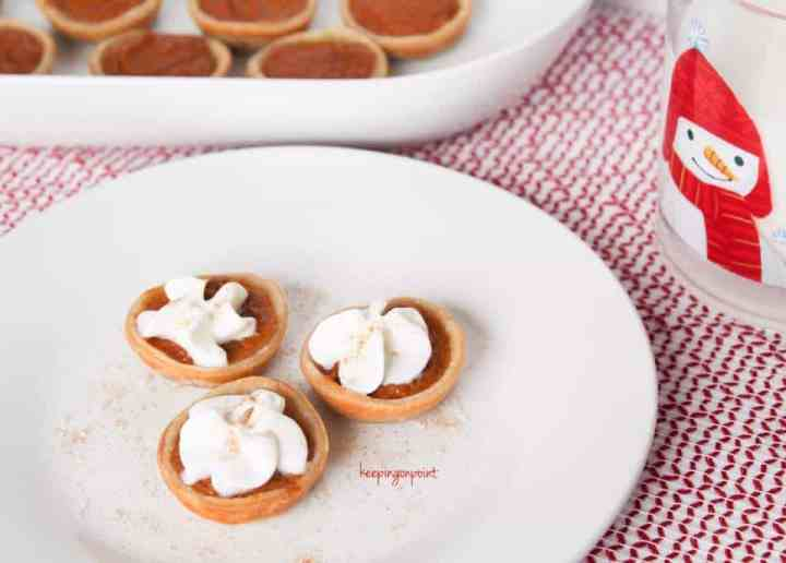 Weight Watchers Freestyle mini pumpkin pies 2