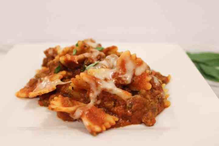Weight Watchers Freestyle Skillet Lasagna 2