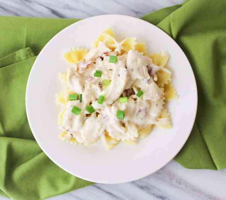 Weight Watchers Freestyle Creamy Bacon Ranch Chicken