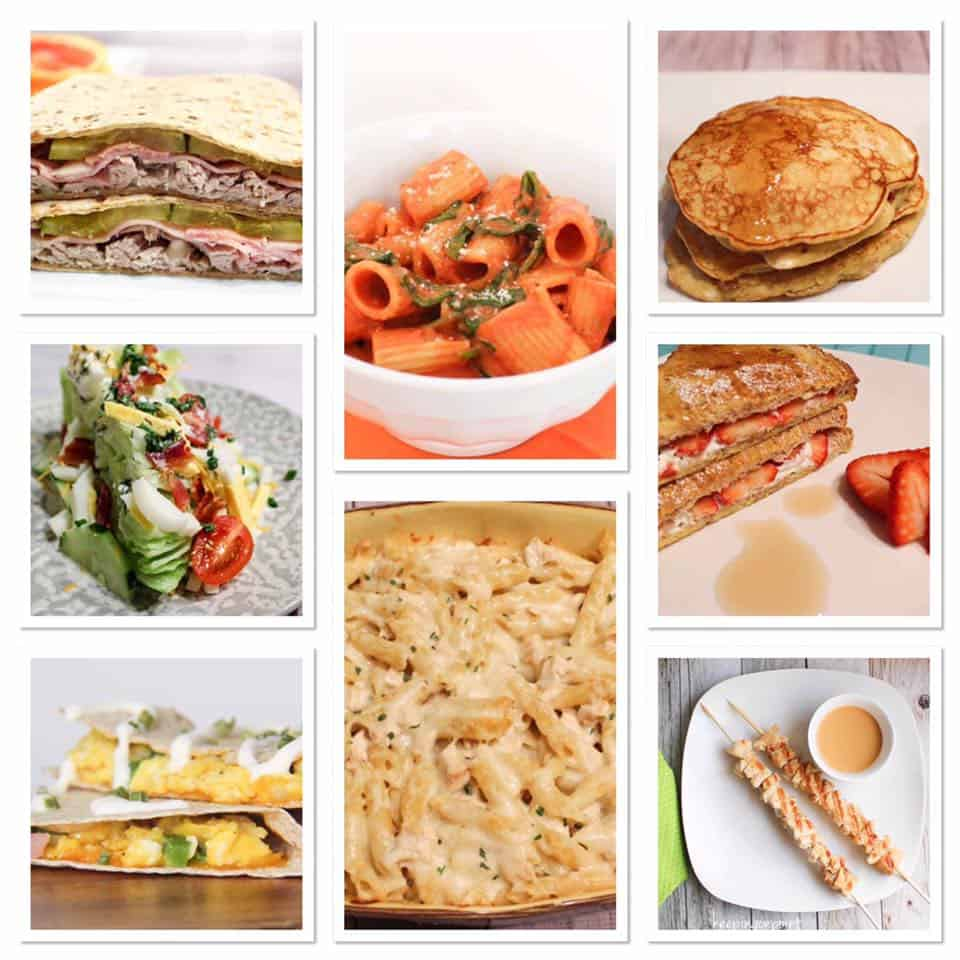 Weight Watchers Weekly Meal Plan #5