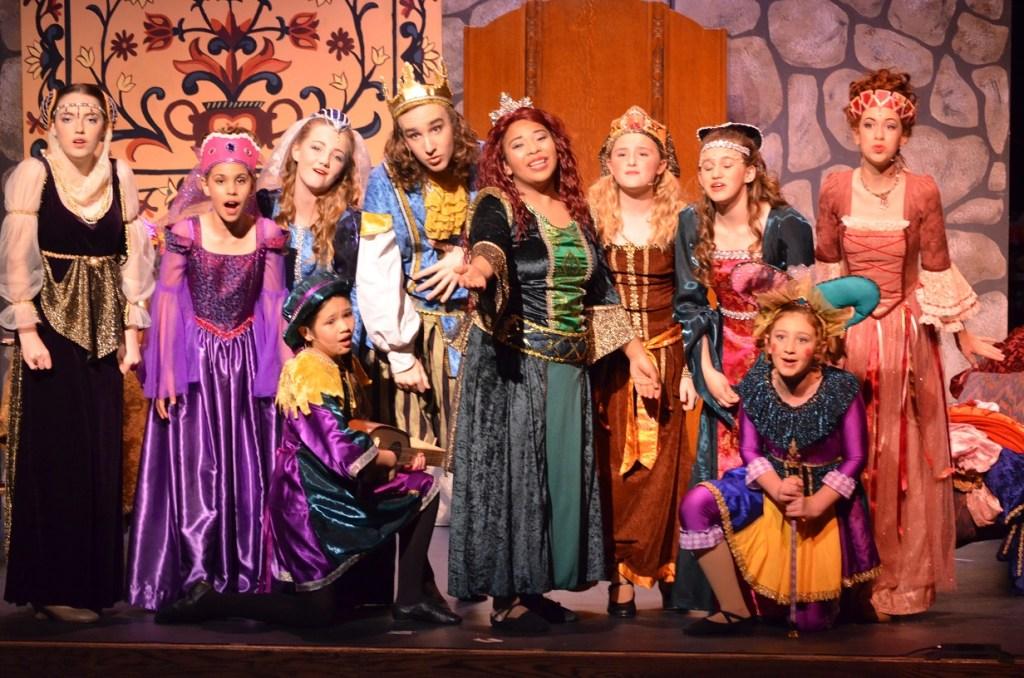 Childrens Repertory of Oregon Workshops production