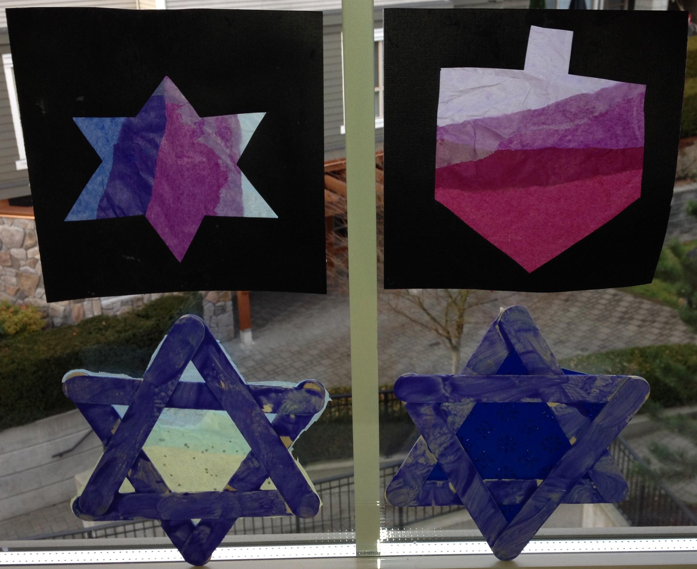 Creative Kids Moment Hanukkah Crafts