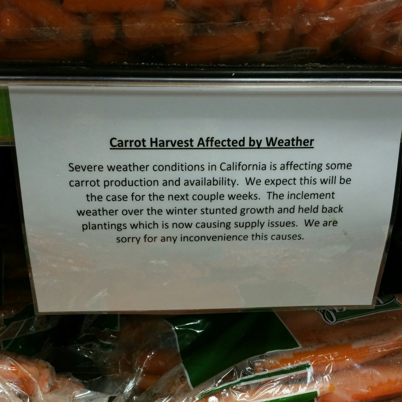 CA carrots are struggling