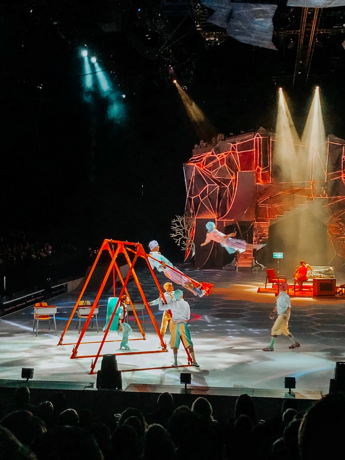 Cirque du Soleil CRYSTAL in Tampa, Florida at the Amalie Arena
