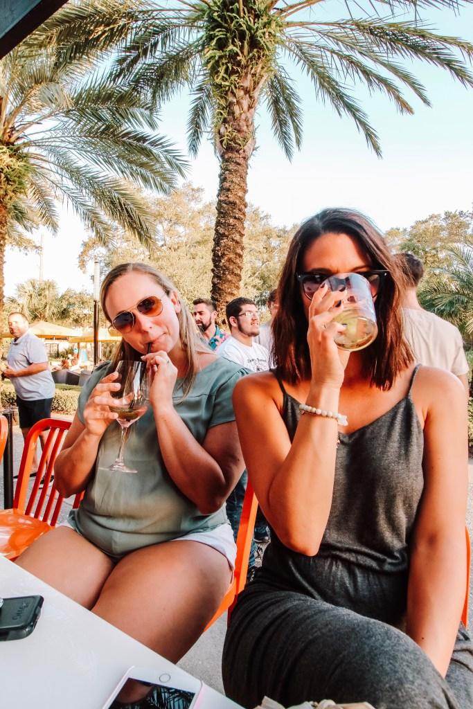 Drinks at Ulele in Tampa, Florida