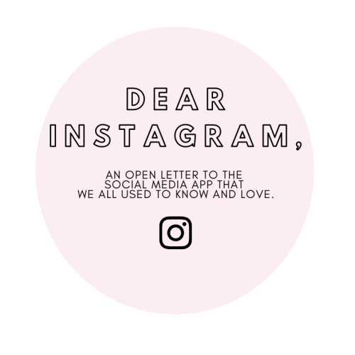 Instagram Engagement: An open letter to Instagram from a blogger that's so over the algorithm