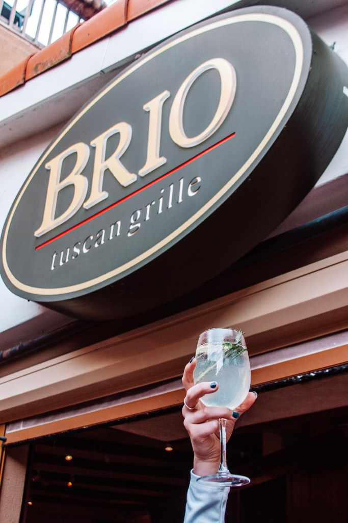 Brio Tuscan Grille in Tampa, Florida just added Mediterranean inspired dishes to their menu. Here's what you need to try.