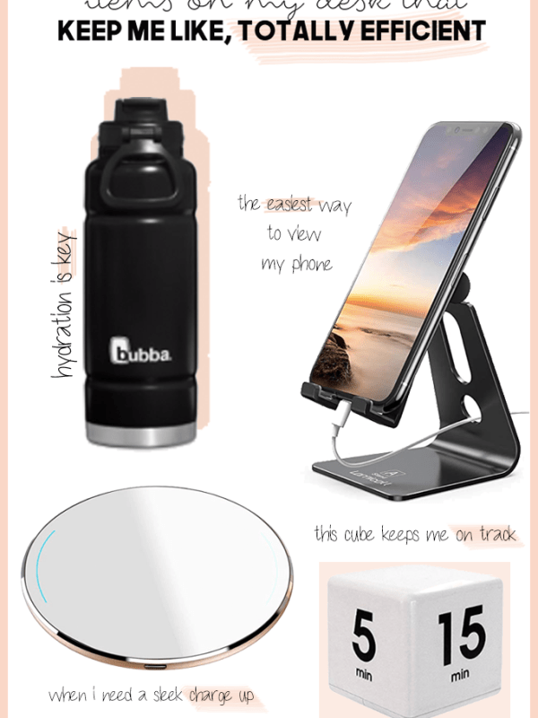 Essentials I use that help me work from home efficiently and effectively