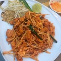 """""""Spicy"""" pad thai"""