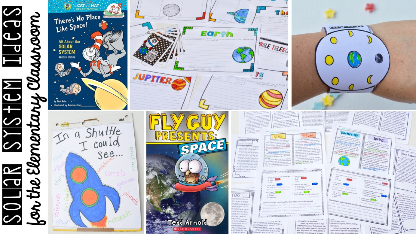 Solar System Activities For The Elementary Classroom