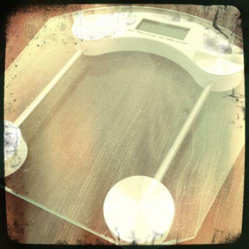 arch nemesis - bathroom scales