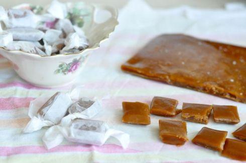 chewy salt caramel