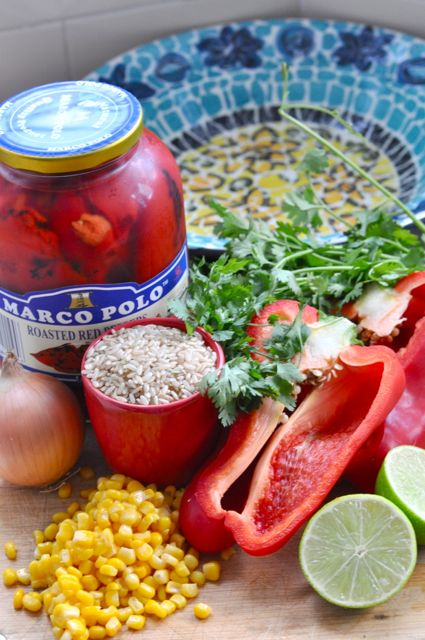mexican salad ingredients