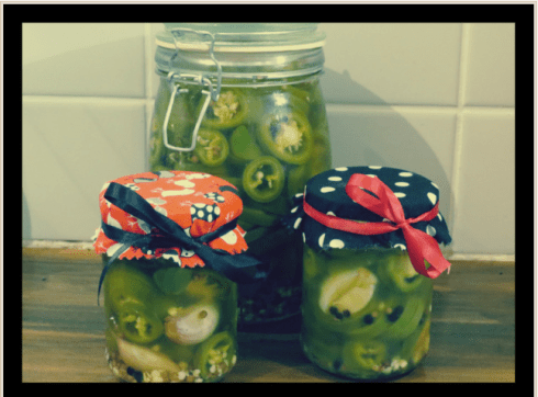 pickled jalapeños