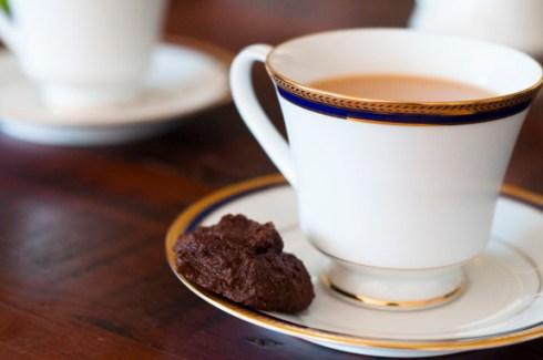 gluten free, guilt free chocolate biscuit
