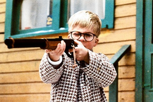 kids and toy guns