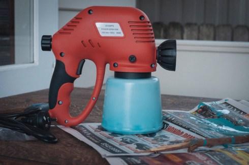 Car spray paint gun. I don't mess around. Got a stolen vehicle? Ghetto Workshop is open for business.
