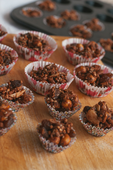 healthy chocolate crackles