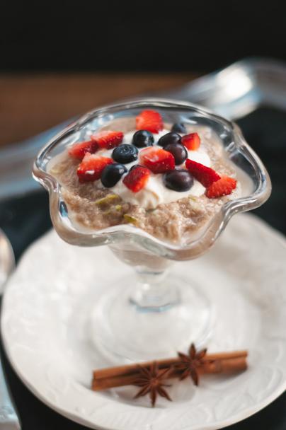 chai chia breakfast trifle