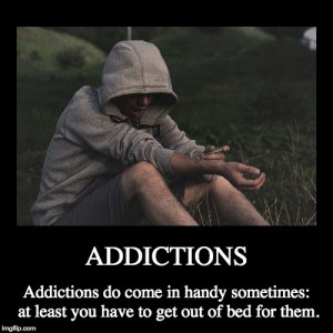 Addictions - Demotivational Poster - Keeping Up With The Penguins