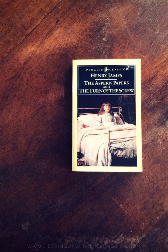 The Turn Of The Screw - Henry James - book laid on wooden table - Keeping Up With The Penguins