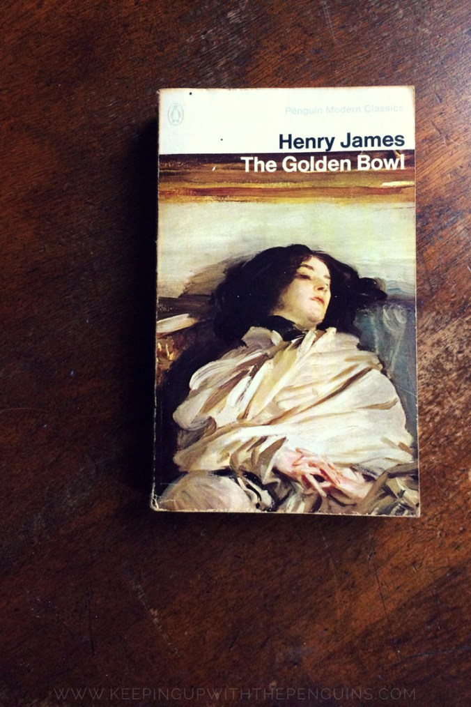 The Golden Bowl - Henry James - Book laid on a wooden table - Keeping Up With The Penguins