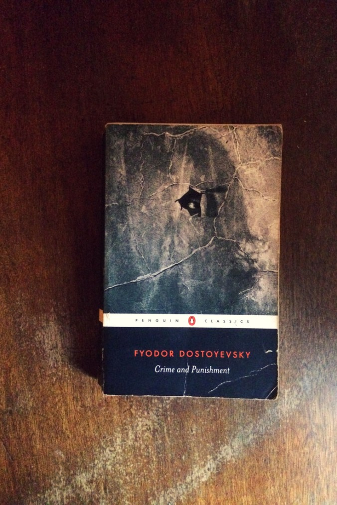 Crime and Punishment - Fyodor Dostoyevsky - Book Laid On Wooden Table - Keeping Up With The Penguins