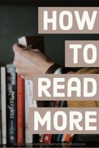 How To Read More - A Guide from Keeping Up With The Penguins