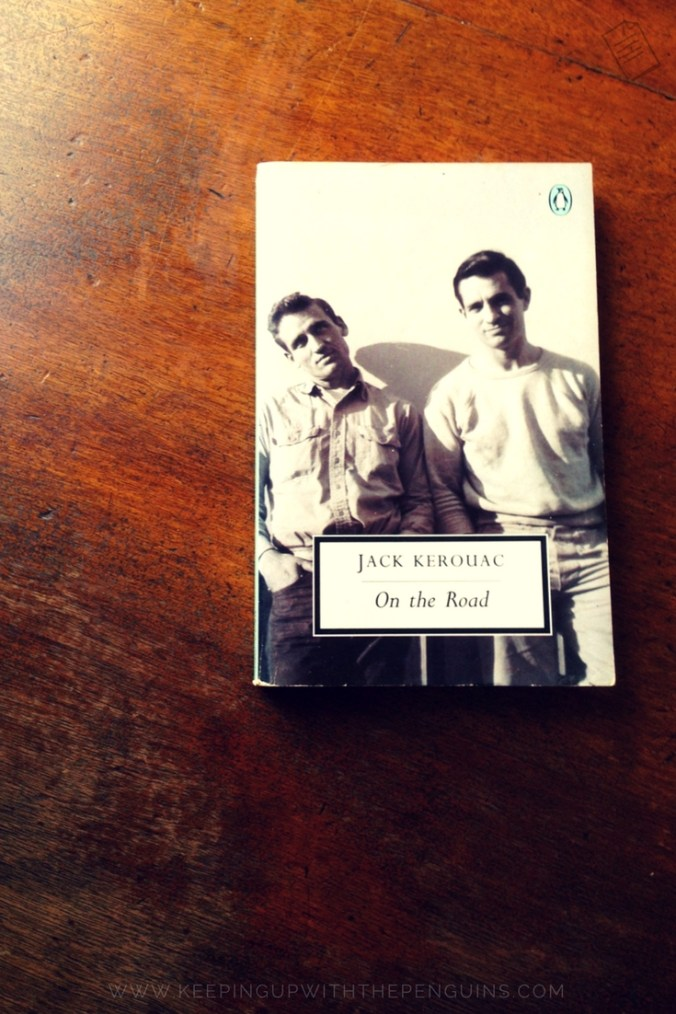 On The Road - Jack Kerouac - book laid on wooden table - Keeping Up With The Penguins