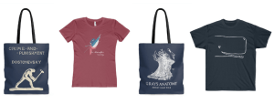 Literary Book Gifts Tote Bags and T-Shirts