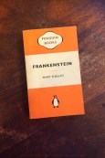 Frankenstein - Mary Shelley - Book Laid on Wooden Table - Keeping Up With The Penguins