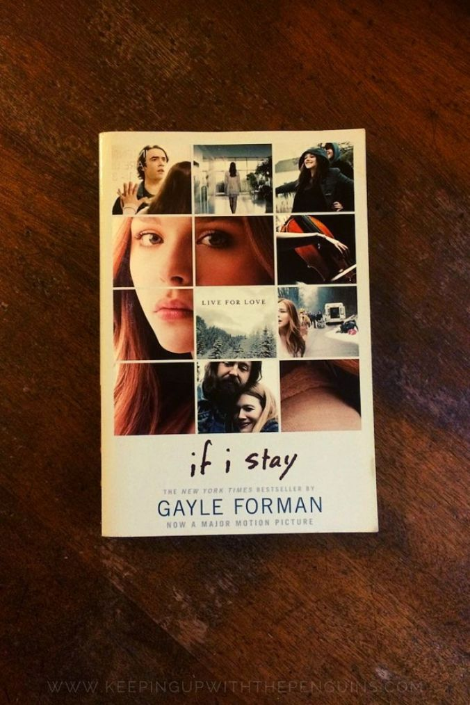 If I Stay - Gayle Forman - Book Laid on Wooden Table - Keeping Up With The Penguins