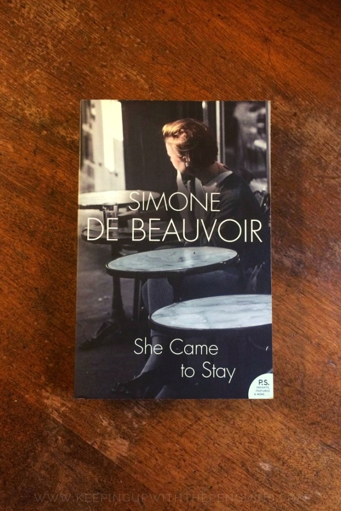 She Came To Stay - Simone de Beauvoir - Book Laid on Wooden Table - Keeping Up With The Penguins