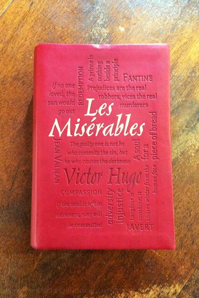 Les Miserables - Victor Hugo - Book Laid on Wooden Table - Keeping Up With The Penguins