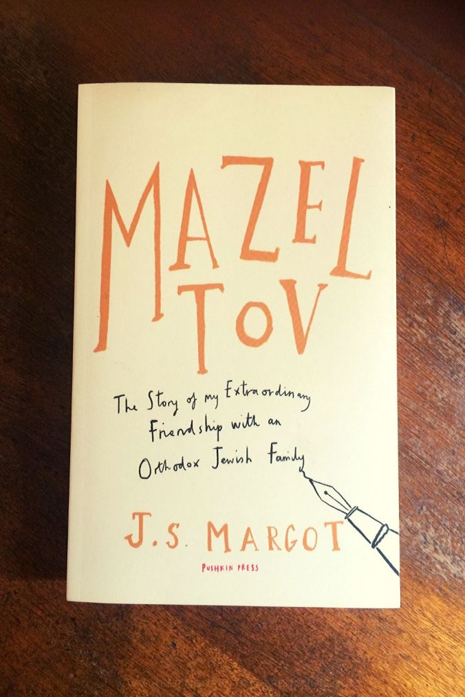 Mazel Tov - JS Margot - Book Laid on Wooden Table - Keeping Up With The Penguins