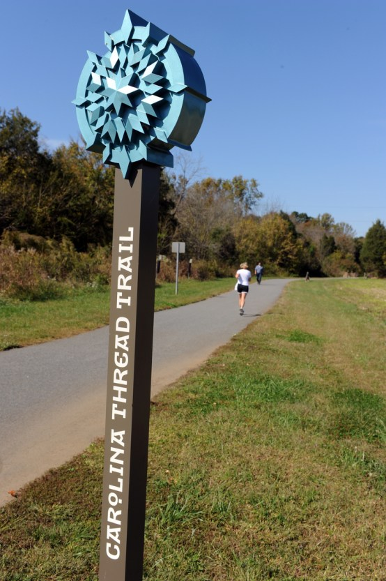 The multicounty Carolina Thread Trail. Photo: Nancy Pierce