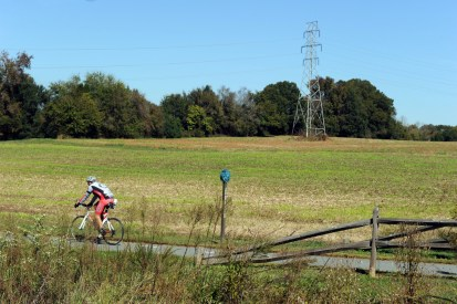 Davidson Greenway, part of multicounty Carolina Thread Trail. Photo: Nancy Pierce