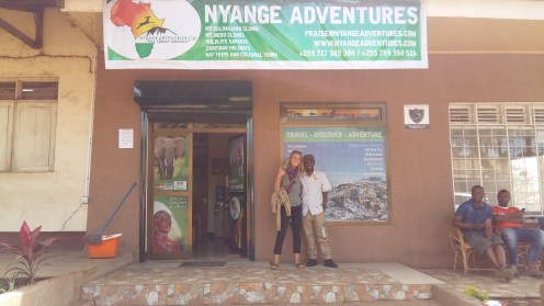 The office of Nyange Adventures