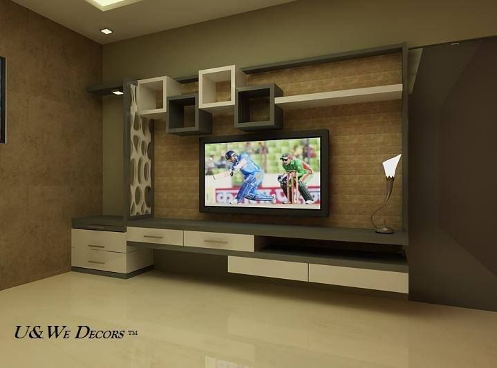 Glamorous TV Wall Units For Your Living Room