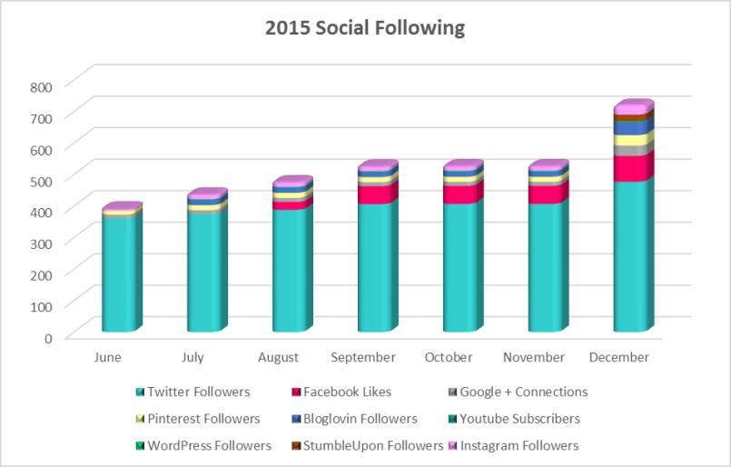 2015 Social Following