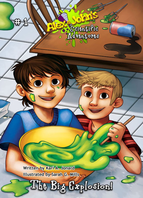 ALEX & JOHN'S SCIENTIFIC ADVENTURES: The Big Explosion! E-Book