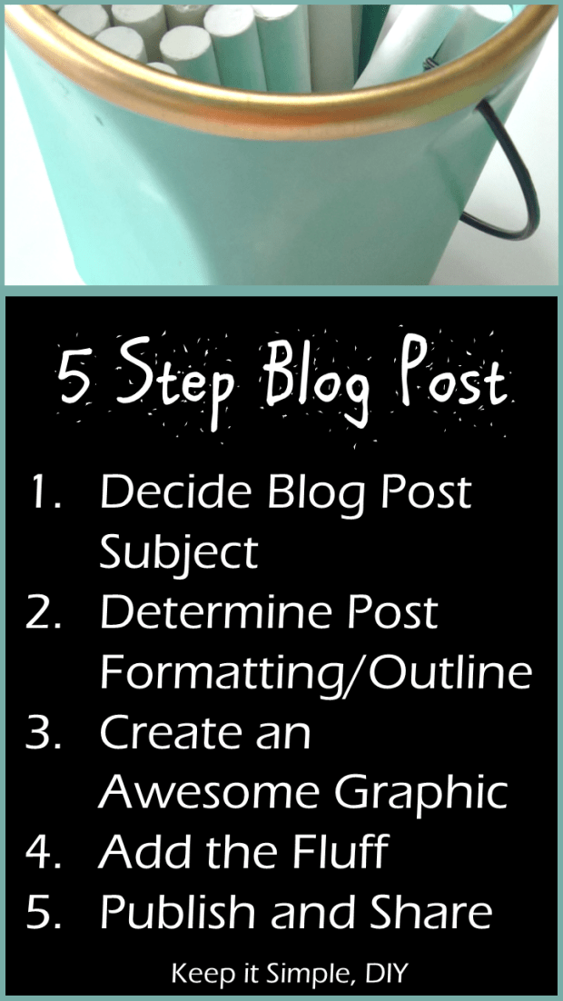 5 Step Blog Post