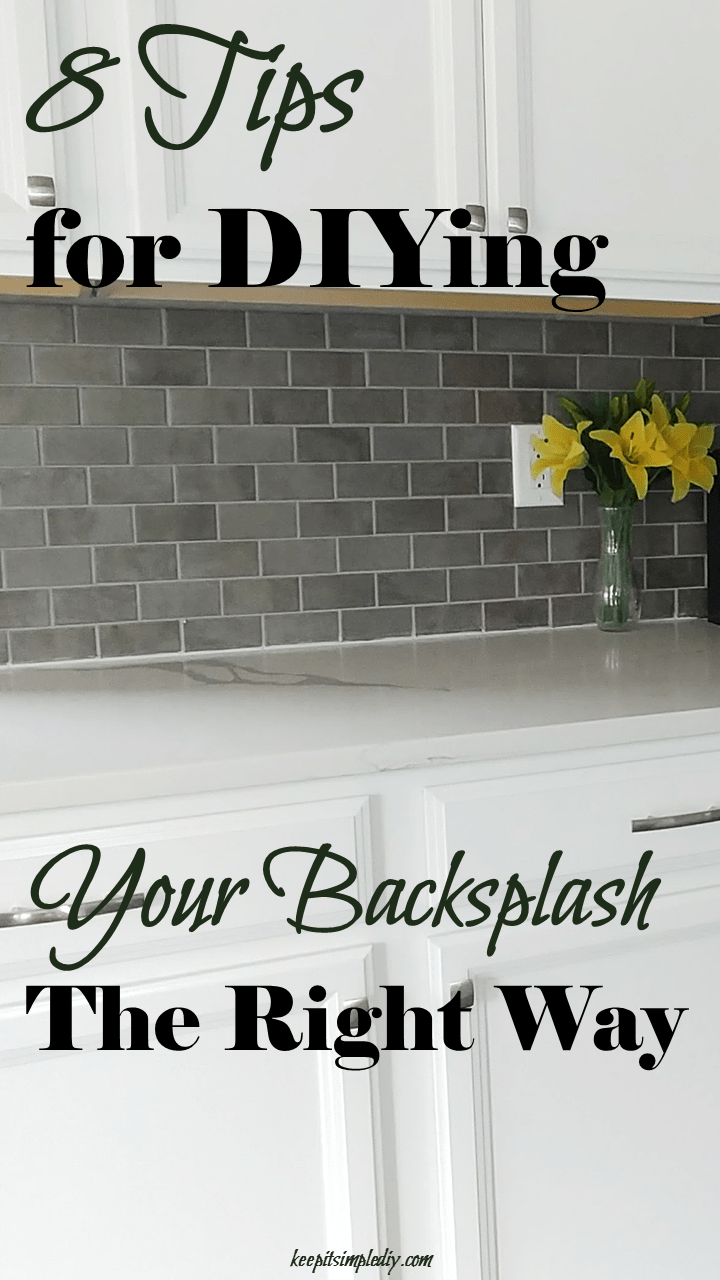 8 Tips for DIYing Your Backsplash the Right Way
