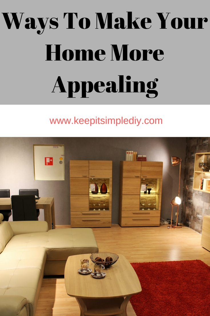 Ways to make your home more appealing