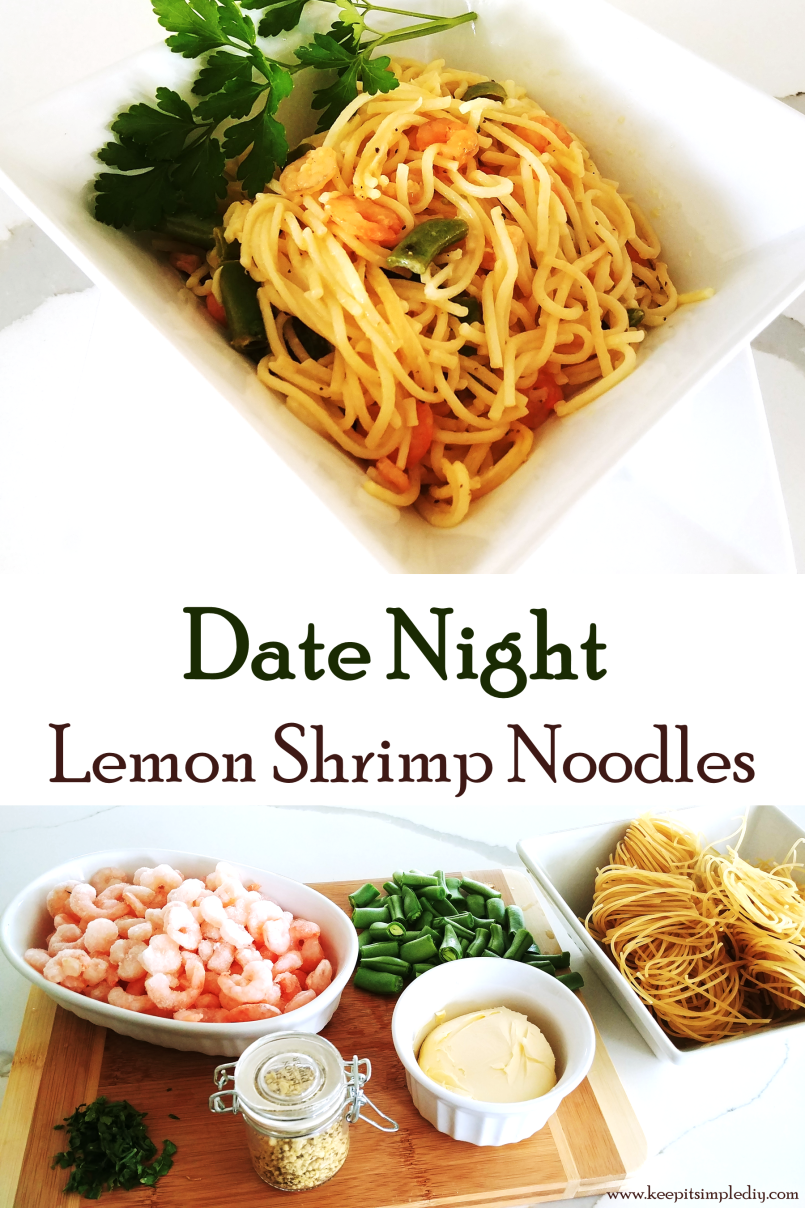 Lemon Shrimp Noodles
